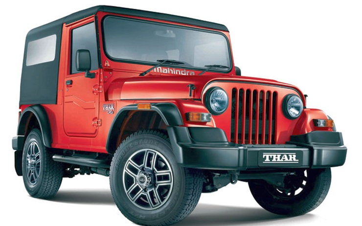 2015 Jeep Wrangler Inside >> Facelifted Mahindra Thar 4X4 Launched in India; Prices Inside
