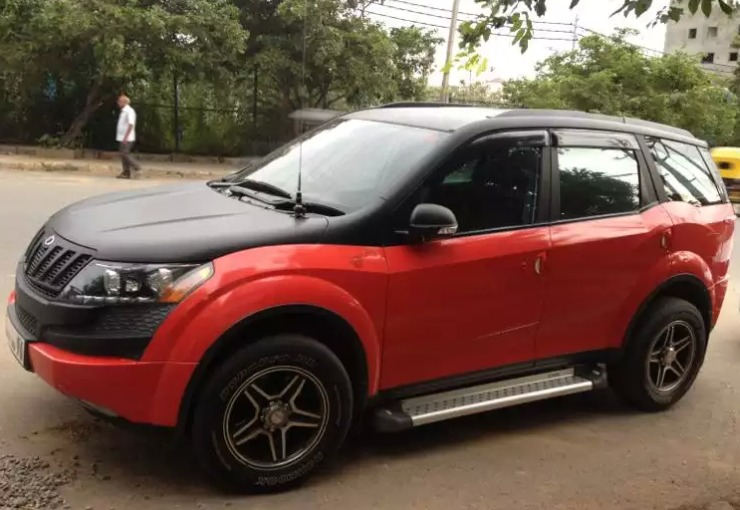 Modified mahindra xuv500 crossovers from the very loud for Xuv 500 exterior modified