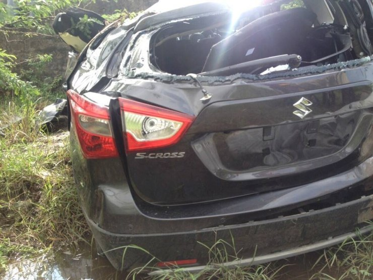 Maruti Suzuki S-Cross Crash 2