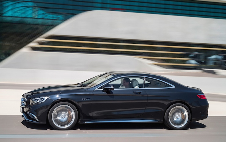 Mercedes Benz W222 S-Class S63 AMG Coupe