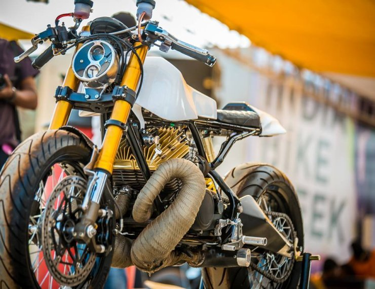 5 Beautifully Modified Yamaha RD350 Motorcycles From India