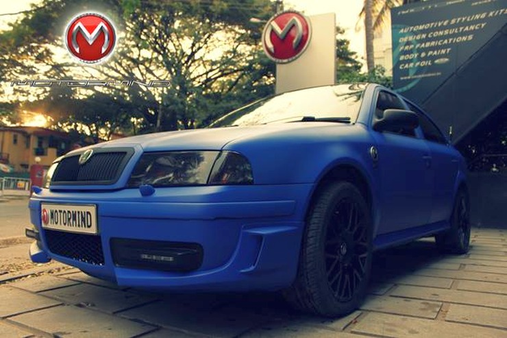 Motormind's Skoda Octavia Wrap 3