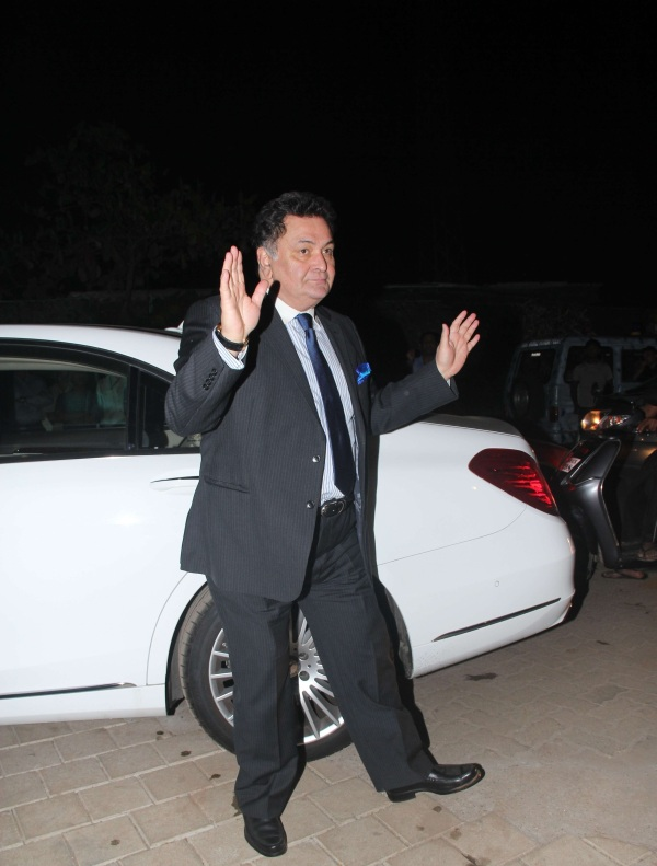 Rishi Kapoor with his W222 Mercedes Benz S-Class