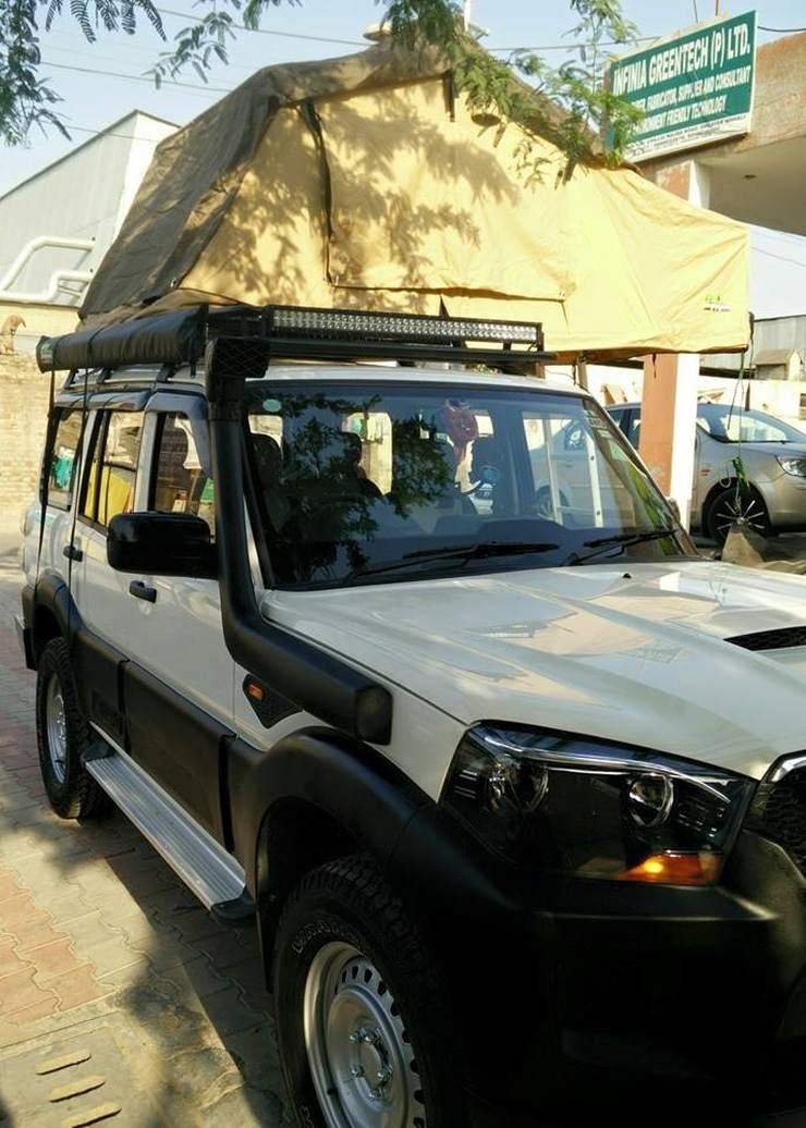 Sarbloh Motors Mahindra Scorpio Facelift Custom