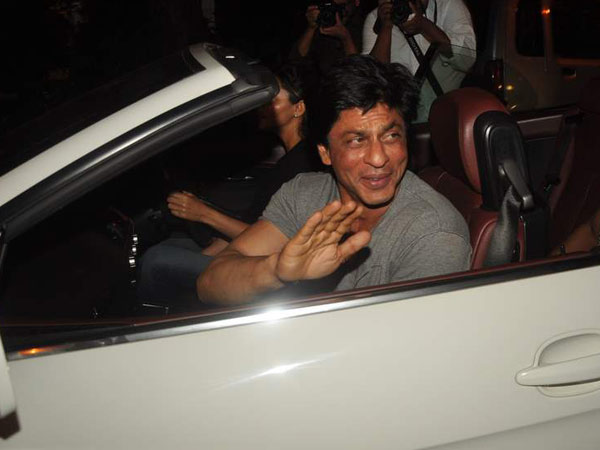 Shahrukh Khan in the BMW 6-Series 650i