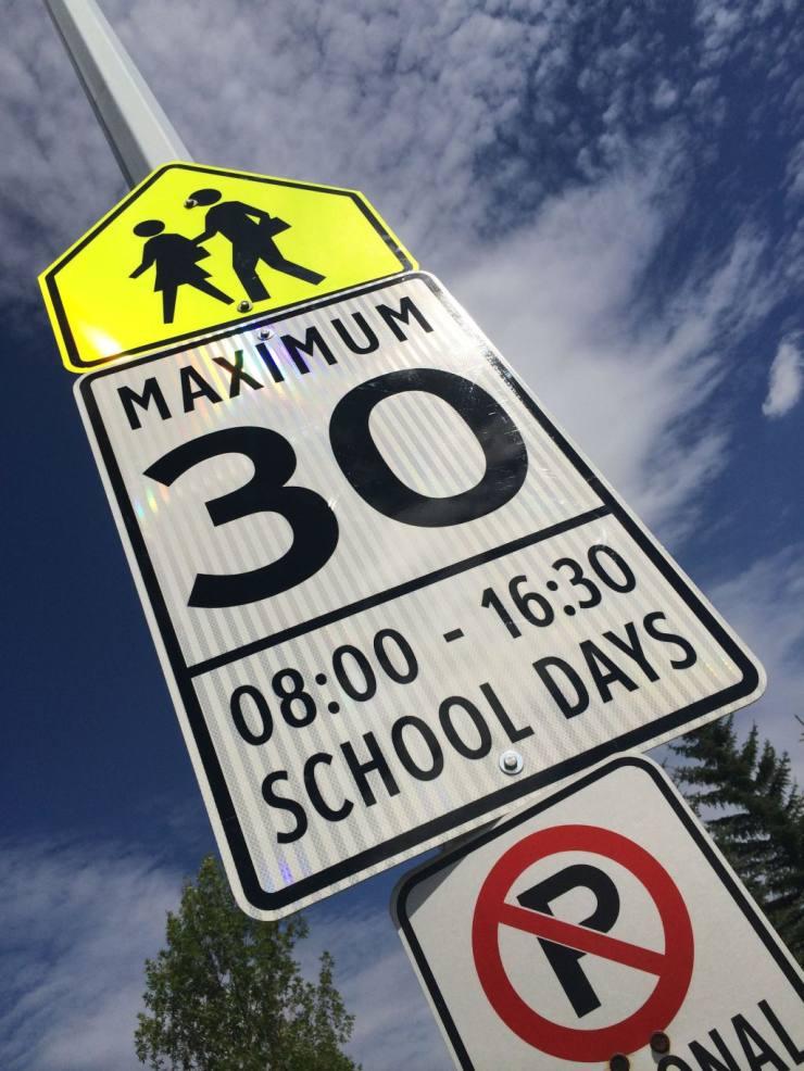 Slow Down School Zone