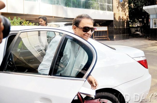 Sunil Gavaskar with his E60 BMW 5-Series