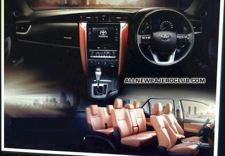 Toyota Fortuner Luxury SUV 4