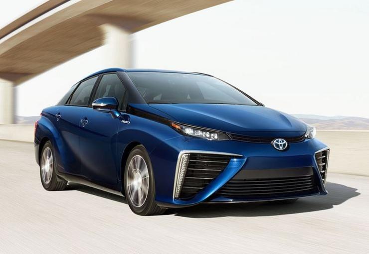 Toyota Mirai Hydrogen Fuel Cell Car