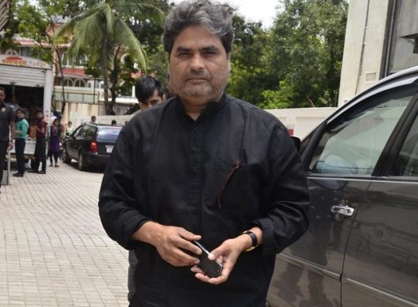 Vishal Bhardwaj with his Toyota Innova
