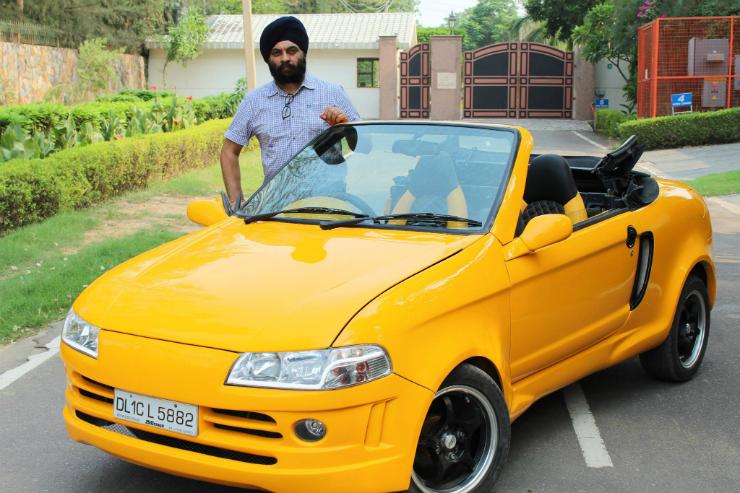 JS Design Maruti 800 Convertible Delhi