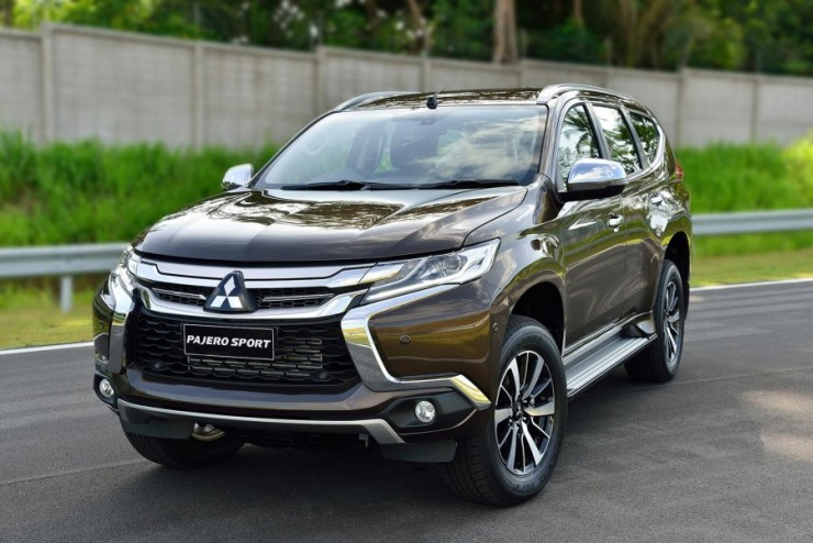 This is the all-new Mitsubishi Pajero Sport, and it's coming soon to