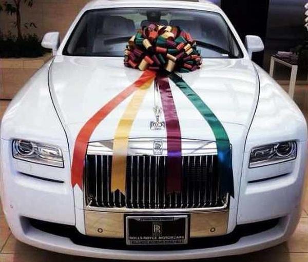 Arpita Khan's Rolls Royce Phantom