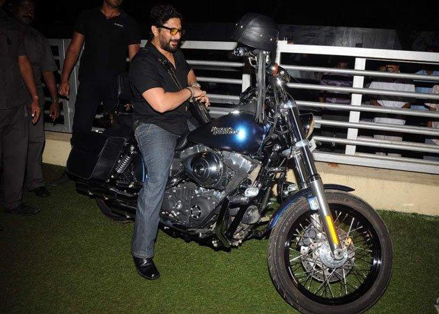 Arshad Warsi on his Harley Davidson Dyna