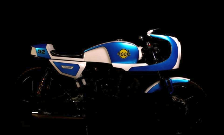 Autologue Design's Cafe Racer Kit for Royal Enfield Motorcycles