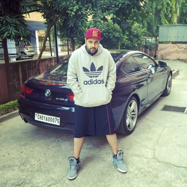 Badshah and his BMW 640d