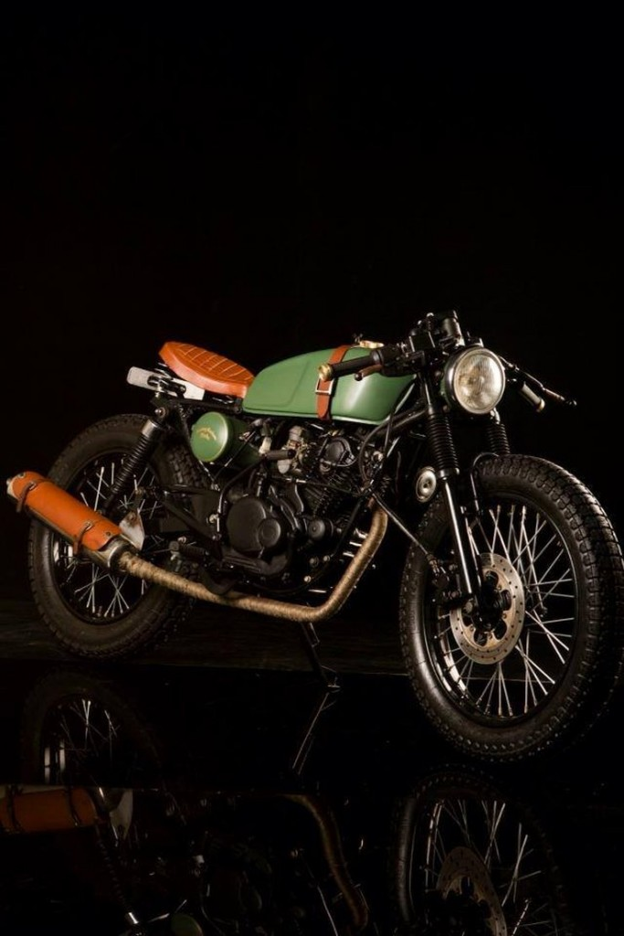 Bombay Custom Works' O-Four Cafe Racer 1