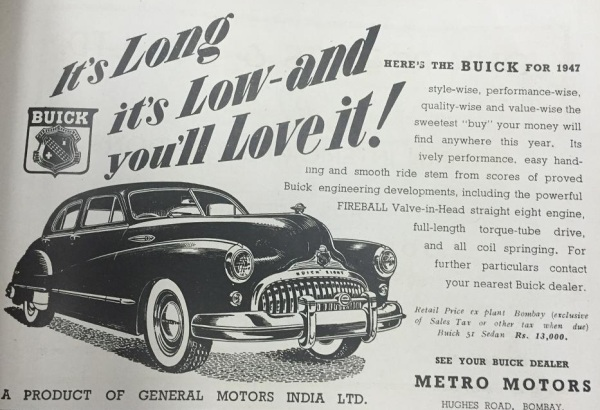 Buick for 1947