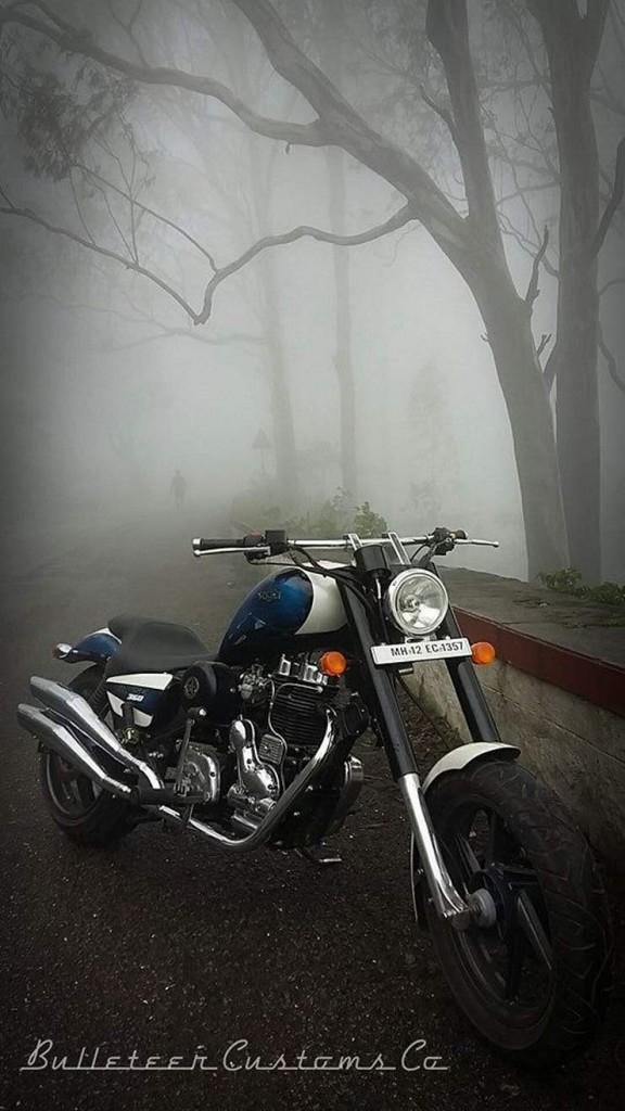 Bulleteer Customs' Royal Enfield Vayu Custom 1