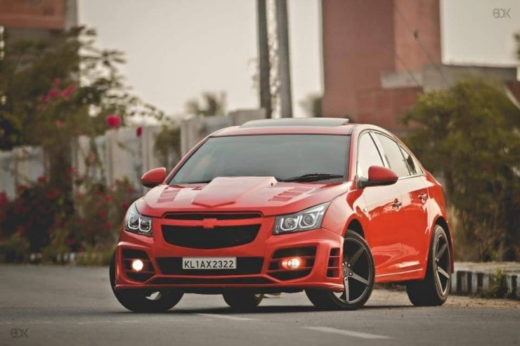 5 of India's hottest, modified Chevrolet Cruze cars