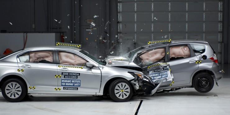 Frontal Crash Test IIHS