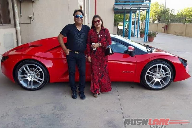 DC Avanti first owner