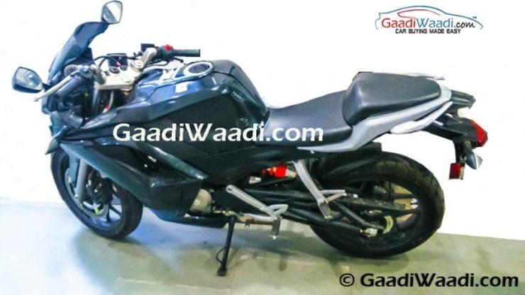 Hero Motocorp HX 250R Spyshot