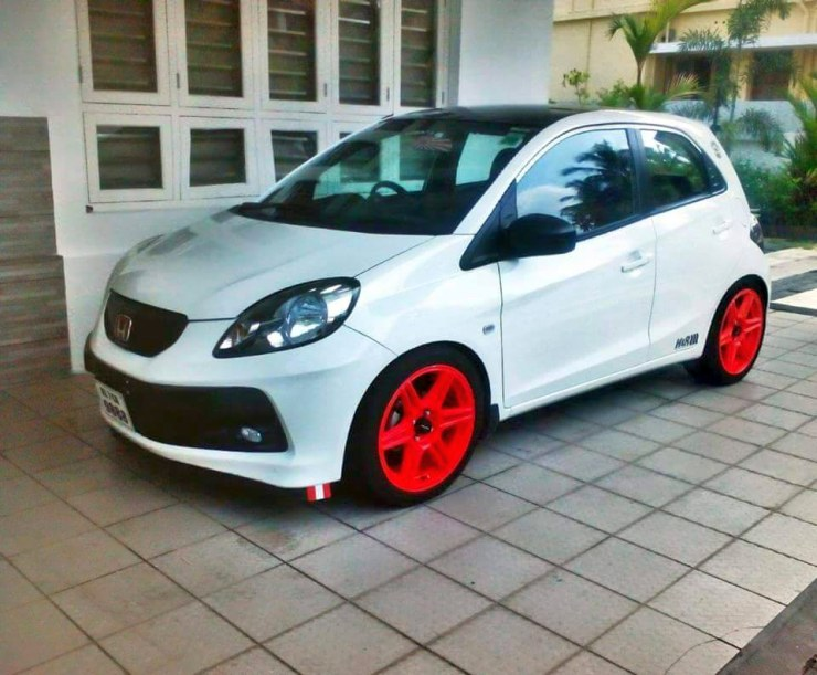 Honda Brio White Colour >> A Tasty Set Of Alloy Wheels Can Make Everyday Cars Look Exotic, Here's Proof