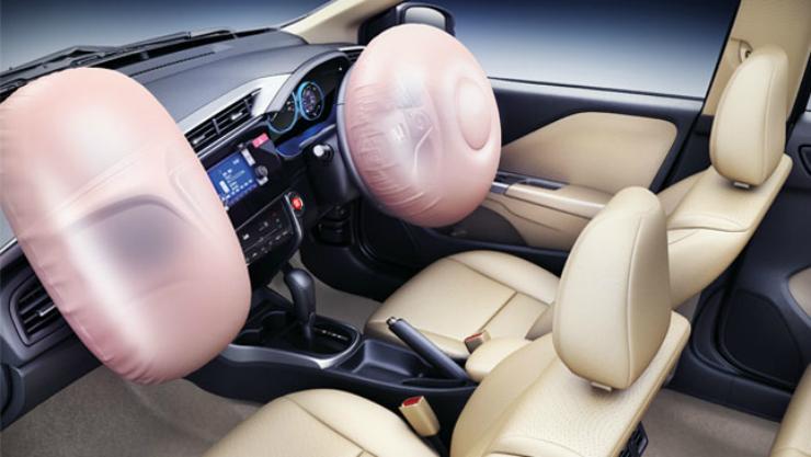 Honda City airbags