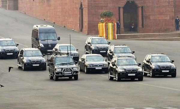 India Prime Minister Motorcade
