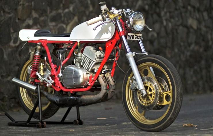 JC Moto's Yamaha RD350 Cafe Racer 2