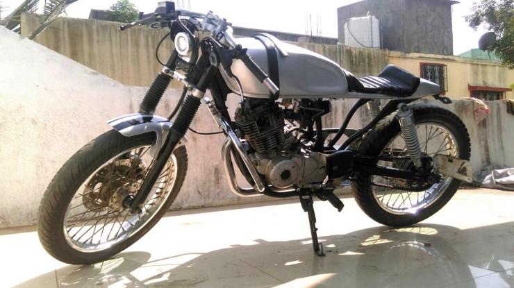 Joat Moto Custom's Bajaj Pulsar 150 Cafe Racer custom 1