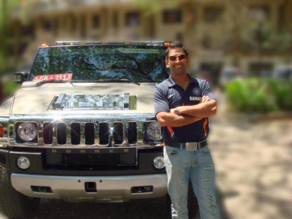 Image result for MS Dhoni – Hummer H2