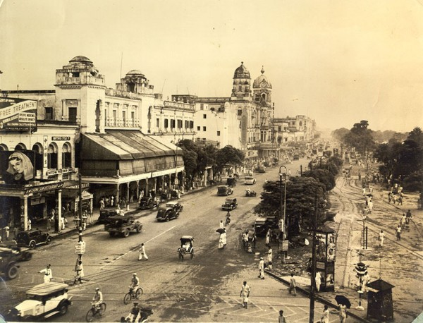 A Madras street in 1940