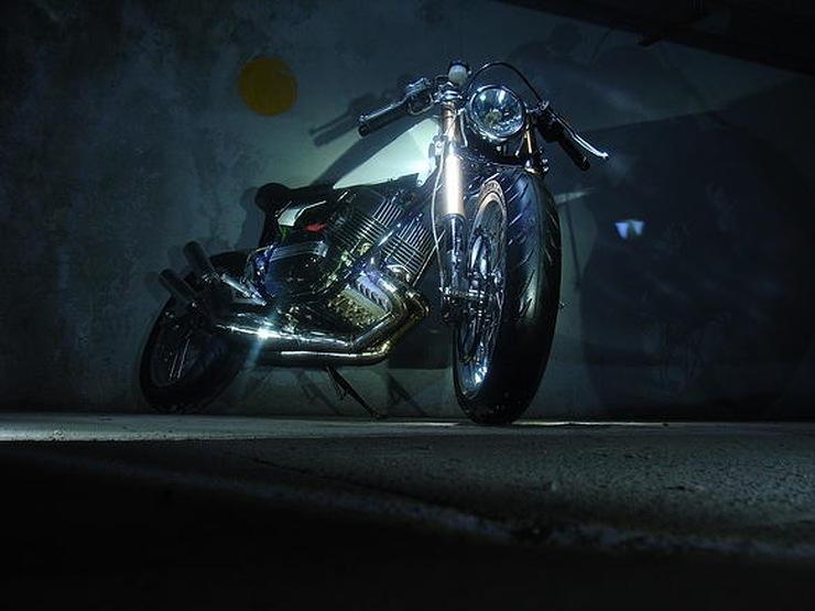 MotoExotica's Yamaha RD350 StreetTracker 1