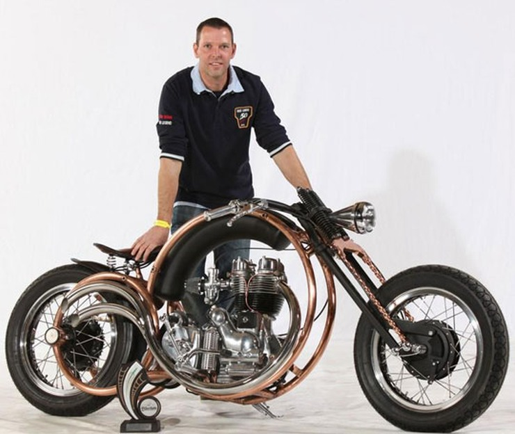 Piet Smit's Royal Enfield Olympic Custom 1