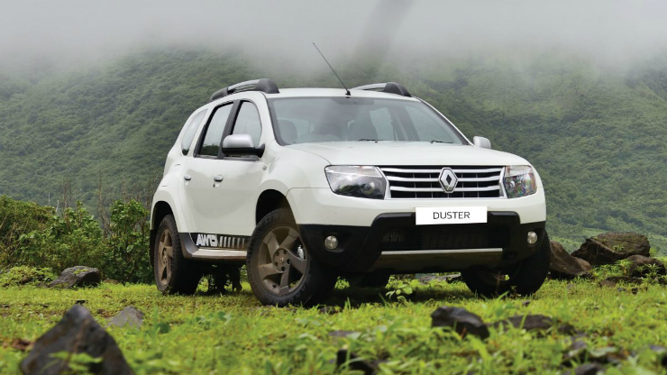 Renault also sells an AWD equipped Duster