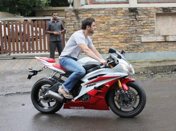 Sohail Khan on his Yamaha R6