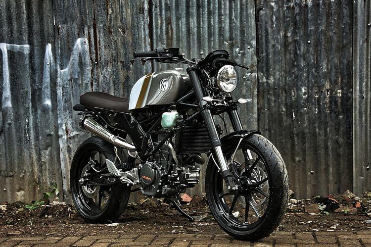 Studio Motor's KTM Duke 200 Scrambler Custom 2
