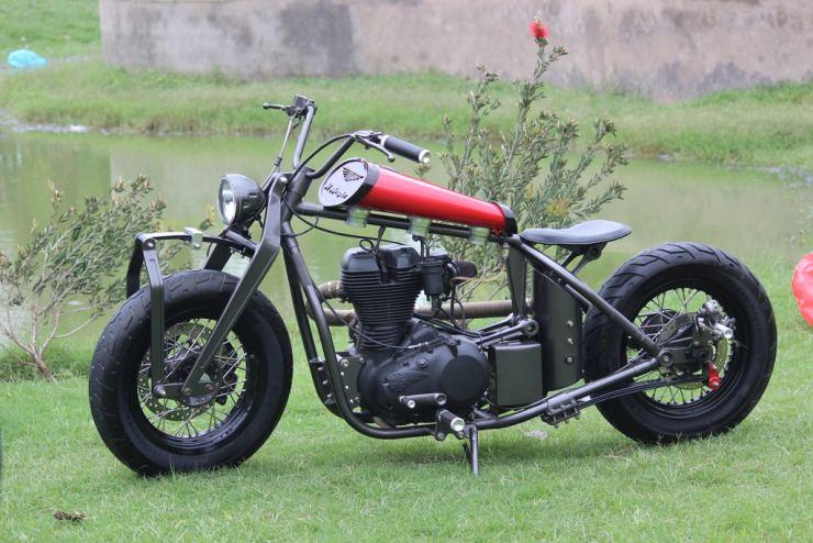 TNT Motorcycles' Royal Enfield Kamaani Custom 1