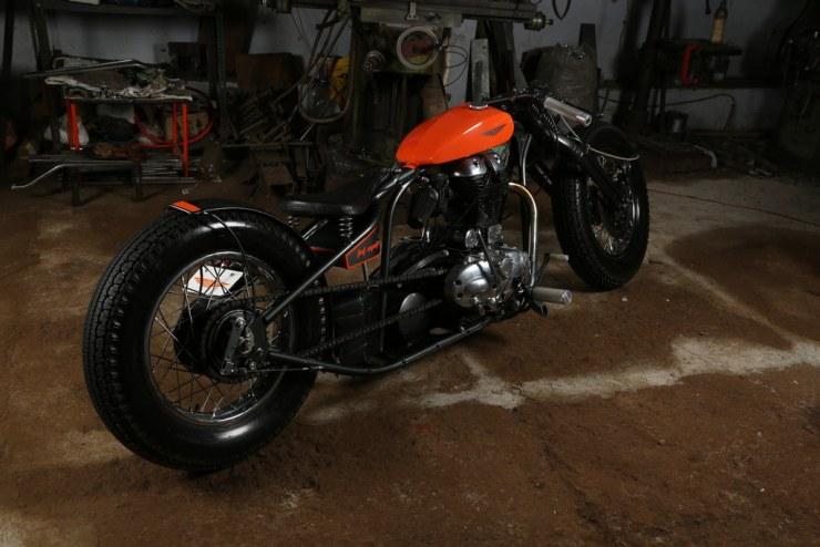 TNT Motorcycles' Royal Enfield Shunya Custom 2