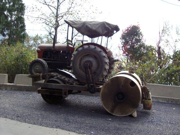 Tractor Road Roller