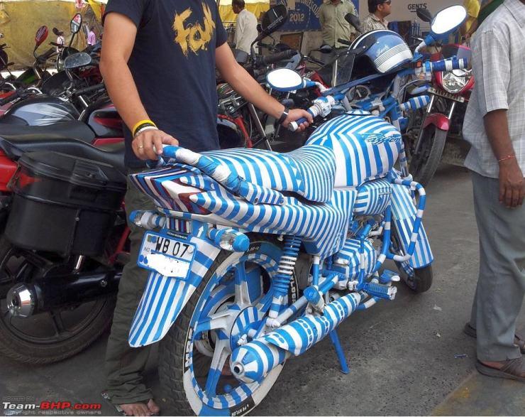 Two Wheeled Zebra
