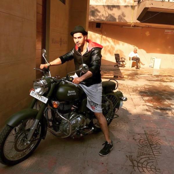 Varun Dhawan on his Royal Enfield Bullet 500
