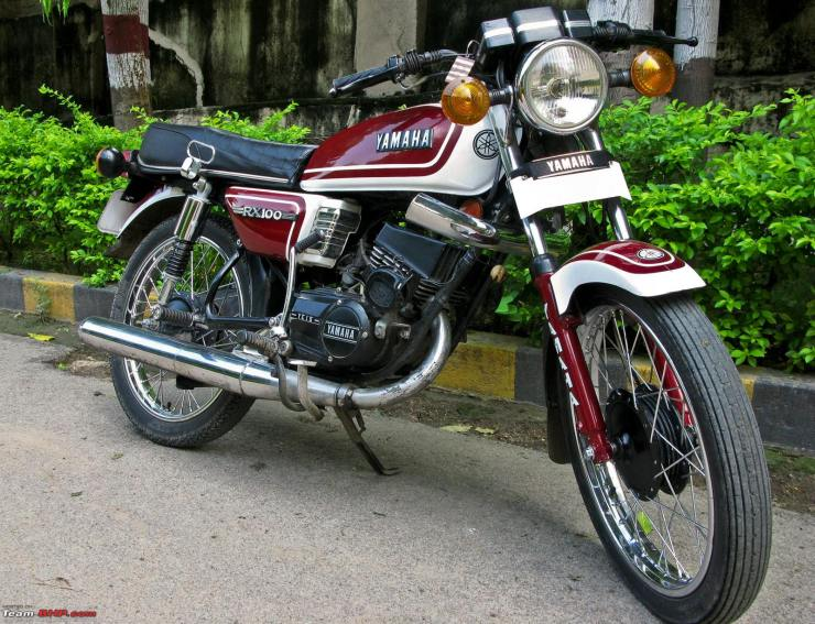 2 Stroke Motorcycle Legends Of India Yamaha Rx100 Rd 350