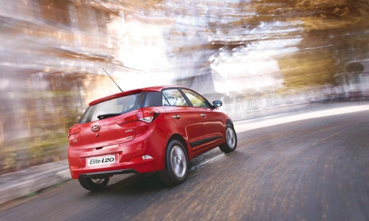 Hyundai Elite i20 rear