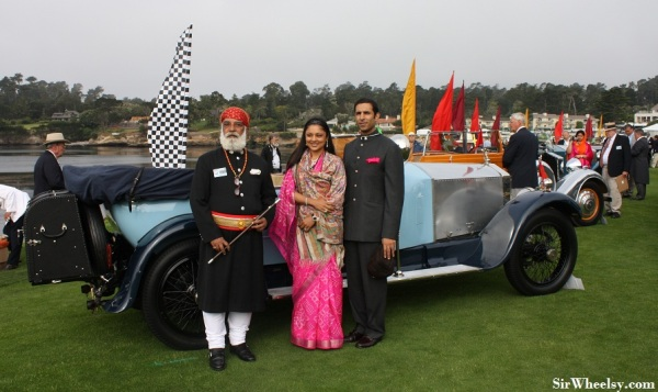 pebble-beach-concours-delegance-1924-Rolls-Royce-20-HP-Barker-Tourer-Arving-Singh-Mewar-Maharana-of-Udaipur-Rajasthan-India