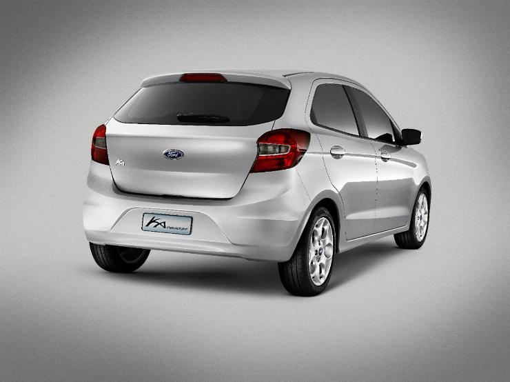 Ford Ka Concept Upcoming Figo rear