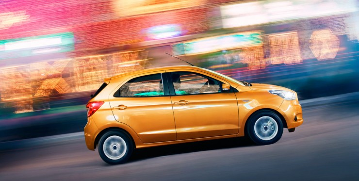 Ford Figo side motion
