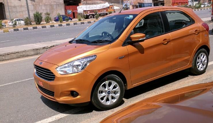 Ford Figo review front
